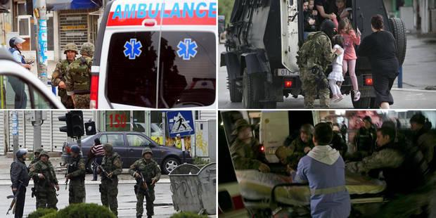 La Macédoine secouée par des incidents armés à sa frontière avec le Kosovo - La Libre