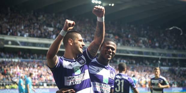 Anderlecht est bien candidat au titre (3-1) - La Libre