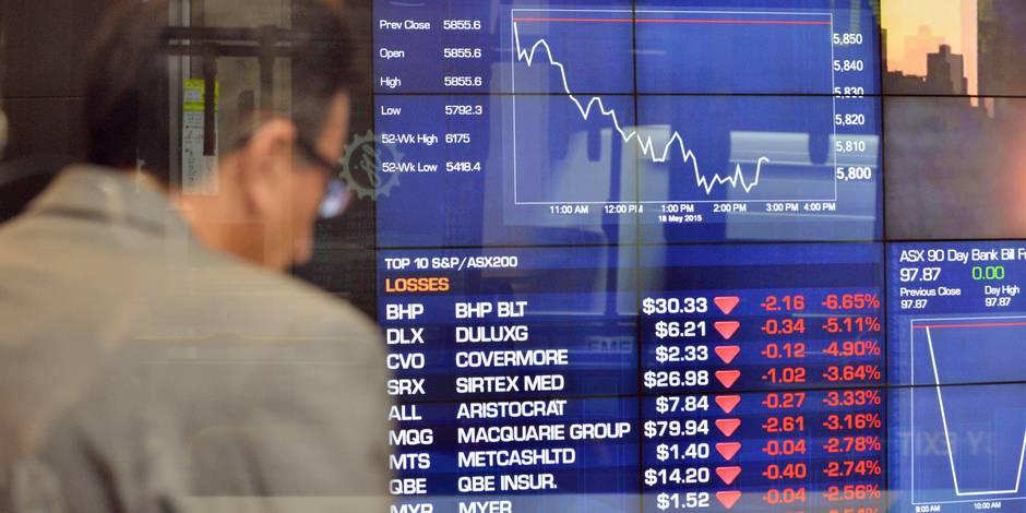 Gare au krach: les obligations sont menacées! - La Libre