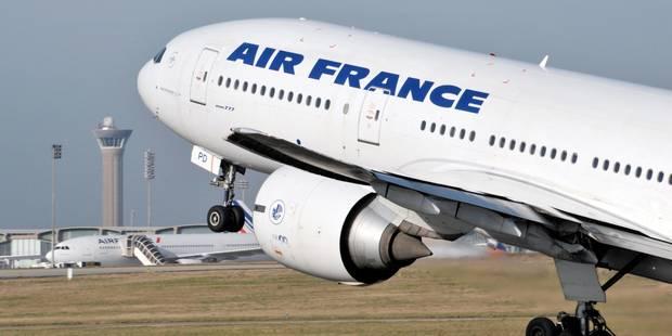 Menaces non crédibles aux USA contre dix avions, un appareil d'Air France escorté - La Libre