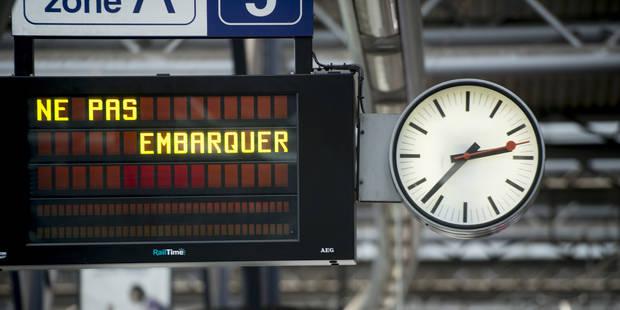 Grève à la SNCB: la circulation des trains s'améliore - La Libre