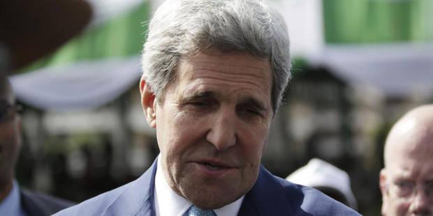 Kerry rentre aux Etats-Unis après une nuit à l'hôpital en Suisse - La Libre