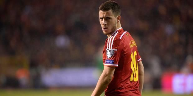 Hazard sera capitaine dimanche soir au stade de France - La Libre