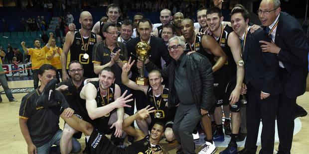 Ostende est champion de Belgique de basket - La Libre