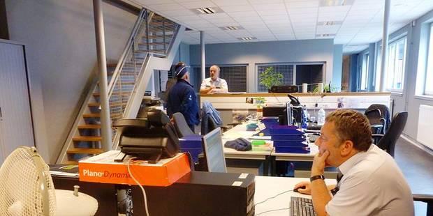 Jumet: 70 policiers dans une ancienne imprimerie - La Libre