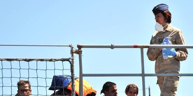 Nouvelle intervention pour le navire Godetia de la Marine en Méditerranée - La Libre