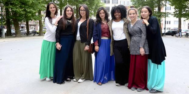 Le port des jupes longues n'est plus problématique à l'école bruxelloise De Mot-Couvreur - La Libre