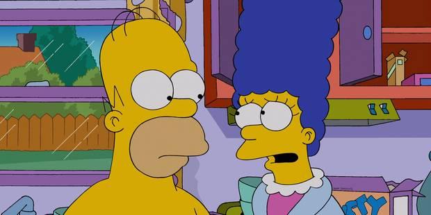 Homer et Marge se séparent dans la nouvelle saison des Simpson - La Libre