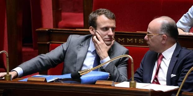 Loi Macron : la motion de censure contre le gouvernement rejetée - La Libre