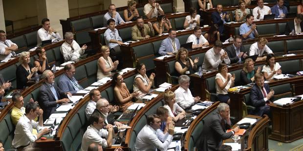 Nouvelle séance agitée à la Chambre - La Libre