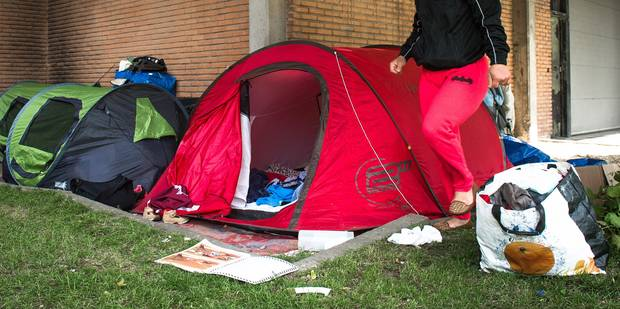 La CEDH condamne la Belgique pour avoir laissé à la rue une famille rom avec 5 enfants - La Libre