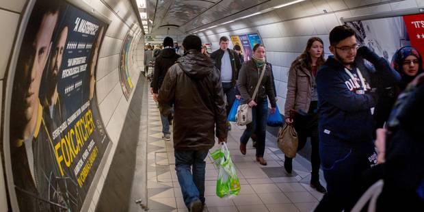 Le métro londonien à l'arrêt en raison d'une grève de 24 heures - La Libre