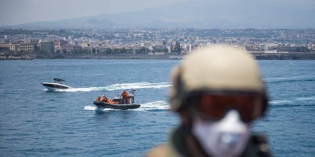 Arrivée en Italie de centaines de migrants secourus en mer - La Libre