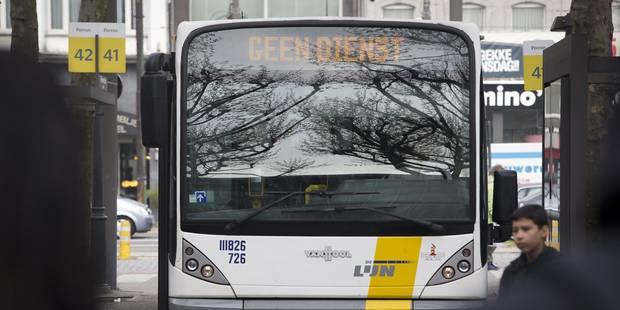 De Lijn veut sacrifier son bus de nuit vers Brussels Airport - La Libre
