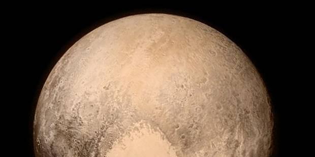 Voici enfin la première photo de Pluton - La Libre