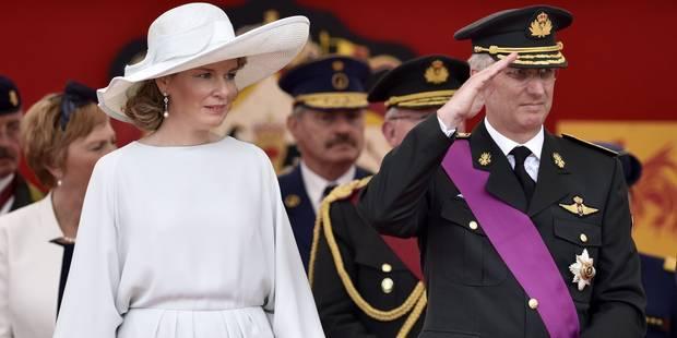 21 juillet : la famille royale a assisté au défilé militaire et civil (PHOTOS) - La Libre
