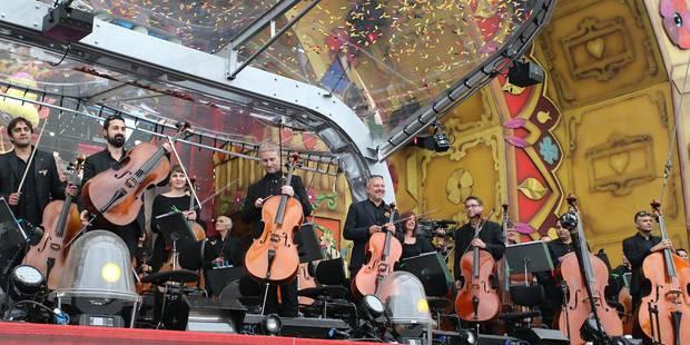 Un Orchestre national magique à Tomorrowland (PHOTOS ET VIDEOS) - La Libre