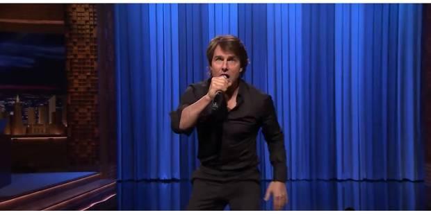 Tom Cruise fait un playback d'exception - La Libre