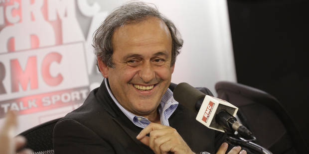 Michel Platini brigue la présidence de la Fifa - La Libre