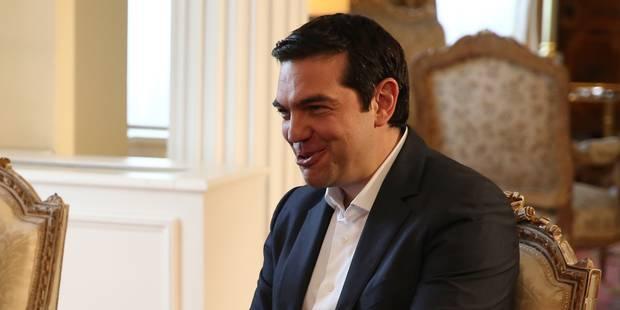 """Tsipras: """"Sans majorité parlementaire, nous serons contraints à des élections"""" - La Libre"""