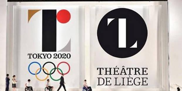 """Logo """"étrangement"""" semblable: le Théâtre de Liège envisage de porter plainte contre Tokyo 2020 - La Libre"""