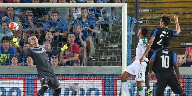 Bruges assomme le Panathinaïkos, s'assure de jouer l'Europa League et disputera les barrages de la C1 - La Libre