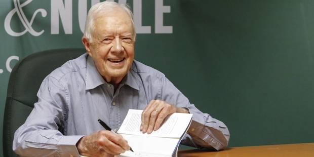 Jimmy Carter va être soigné pour des tumeurs cancéreuses au cerveau - La Libre