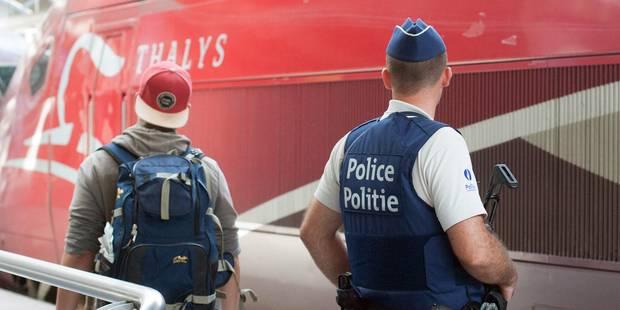 """Fusillade dans le Thalys: Les voyageurs doivent compter sur des """"contrôles aléatoires des bagages"""" - La Libre"""