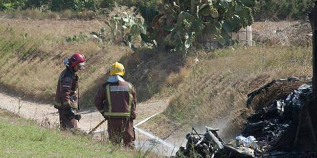 Un petit avion s'écrase près de Séville après que le pilote eut perdu connaissance - La Libre