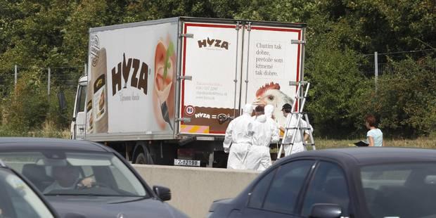 Macabre découverte dans un camion en Autriche: les 71 migrants sont probablement Syriens, 3 personnes arrêtées - La Libr...