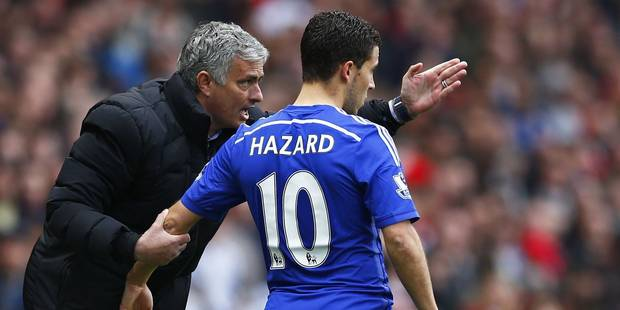 Mourinho critique Hazard, Wilmots le défend - La Libre