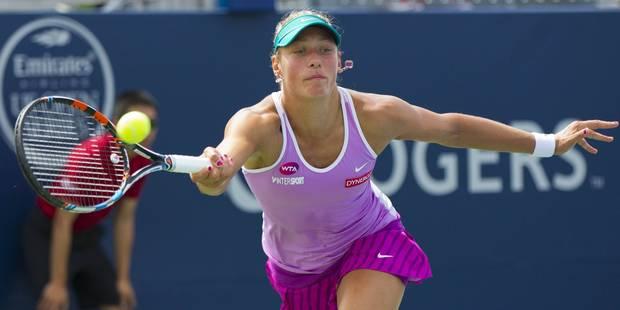 US Open: Wickmayer bat Schiavone, Flipkens déjà dehors - La Libre