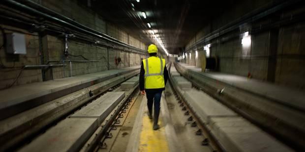 """Le bout du tunnel est en vue pour les travaux """"Schuman-Josaphat"""" - La Libre"""