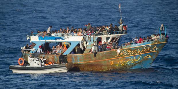 Crise des migrants: Plus de 100 personnes secourues au large de la Libye - La Libre