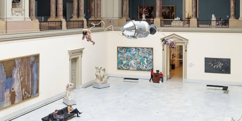 """Les artistes, """"voyants"""" du futur - La Libre"""