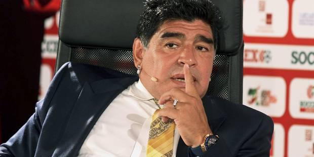 "Diego Maradona : ""Blatter a appris à voler à Platini"" - La Libre"