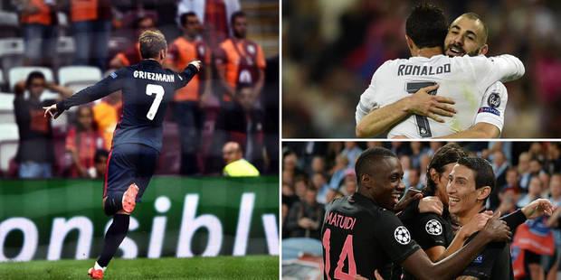 Champion's League: Ronaldo cartonne, Man U piégé, Paris sans forcer - La Libre
