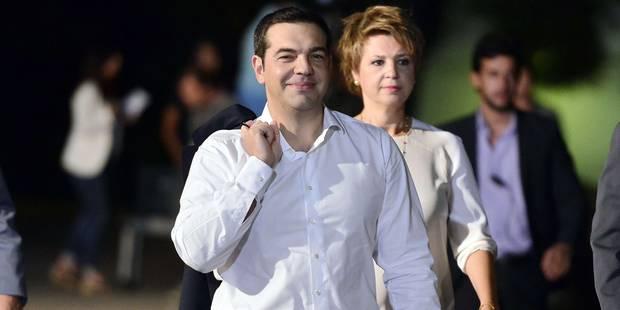 Grèce: Tsipras confiant dans sa victoire aux législatives - La Libre