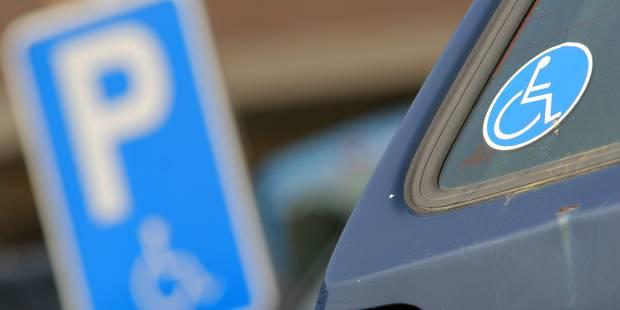 De plus en plus de PV pour stationnement sur une place pour handicapés - La Libre