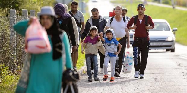 La Croatie a entamé l'acheminement des migrants vers sa frontière avec la Hongrie - La Libre