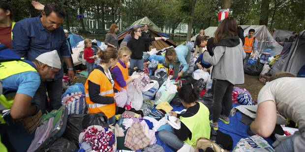 En une semaine, 1.889 demandeurs d'asile se sont présentés en Belgique - La Libre