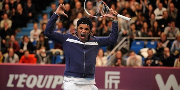 Yannick Noah fait son retour dans le monde du tennis - La Libre