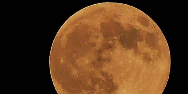 Une éclipse totale de Lune sera visible lundi prochain - La Libre