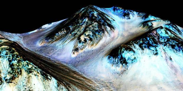 """""""Sur Mars, les conditions de vie sont réunies"""" - La Libre"""