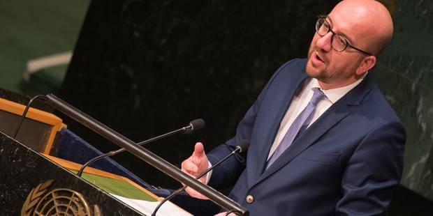 À l'ONU, Charles Michel met en garde contre la menace terroriste persistante - La Libre