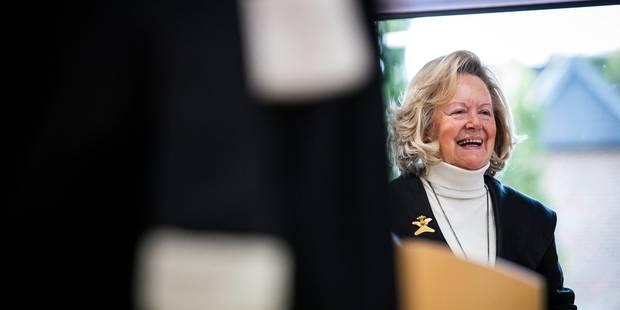 Après le rejet de son pourvoi en cassation, Anne-Marie Lizin quitte la politique - La Libre