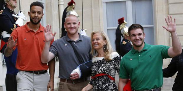 A New York, Michel et Reynders rendent hommage aux héros du Thalys - La Libre