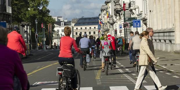 Le vélo bénéfique pour la santé même dans une grande ville polluée - La Libre