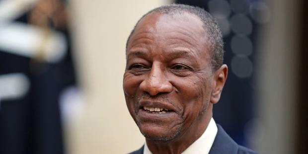 Guinée : le président Condé l'emporte au 1er tour, l'opposition promet des manifestations - La Libre