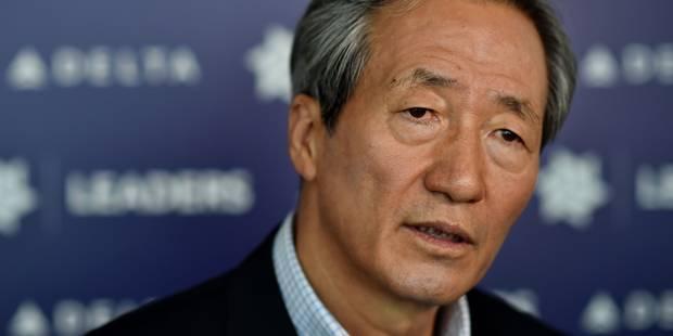 Présidence de la FIFA: Chung Mong-joon ne sera pas candidat - La Libre
